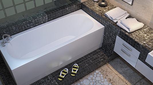 Trojan Cascade White Single Ended Bath 1700 x 700mm